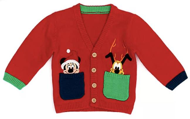 We're obsessed with this Mickey and Pluto cardi (Credit: Disney)
