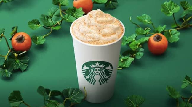 It's only around until 4th November (Credit: Starbucks)