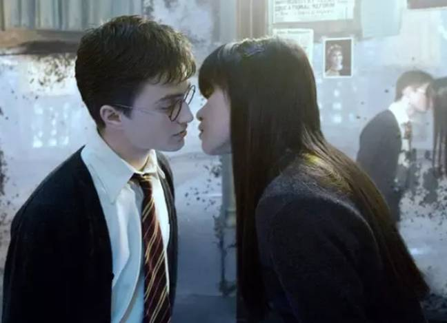 The Harry Potter franchise doesn't have many steamy scenes (Credit: Warner Bros)