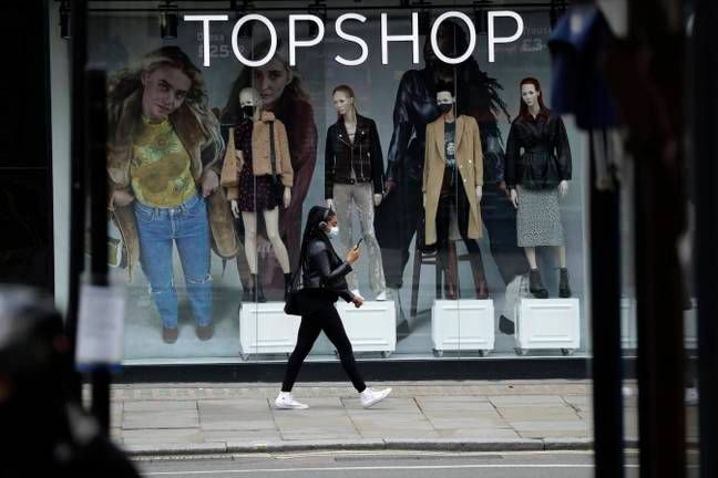 It was announced this week that high street brand Topshop will go into administration, putting thousands of jobs at risk (Credit: PA)