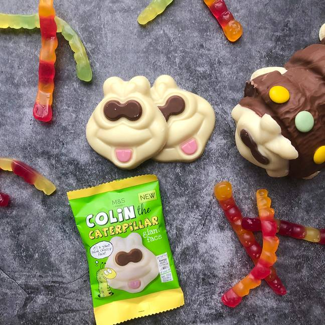 You can now grab some Colin on the go (Credit: M&S)