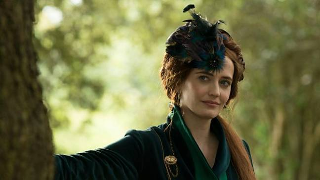 Eva Green as Lydia Wells in 'The Luminaries', dropping on the BBC soon (Credit: BBC One)