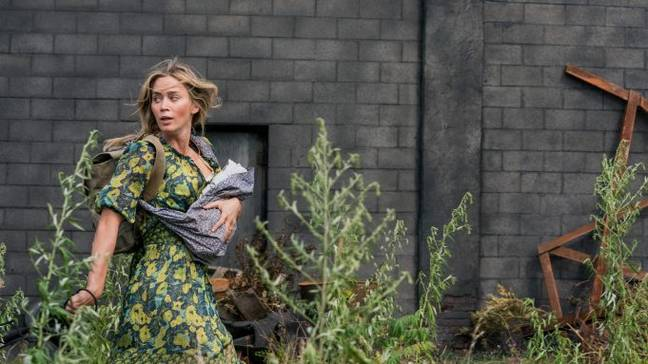 Emily Blunt's character is prepared to fight for her family (Credit: Paramount Pictures)