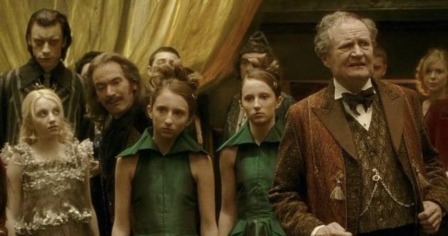 The actor played wizard Eldred Worple in Harry Potter and the Half-Blood Prince (Credit: Warner Bros)