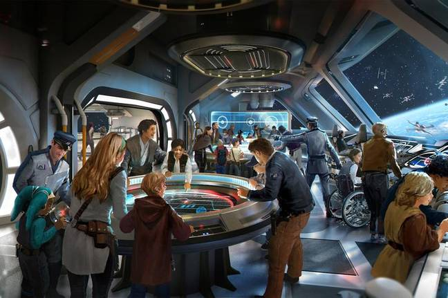 The Galactic Starcruiser will open in 2021 (Credit: Disney)
