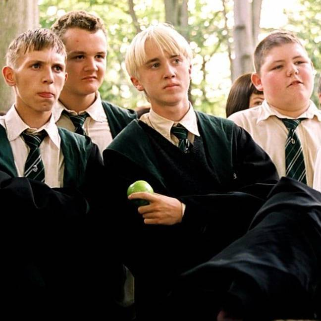 Tom Felton, who played Draco Malfoy, is keen for a Potter reunion (Credit: Warner Bros)