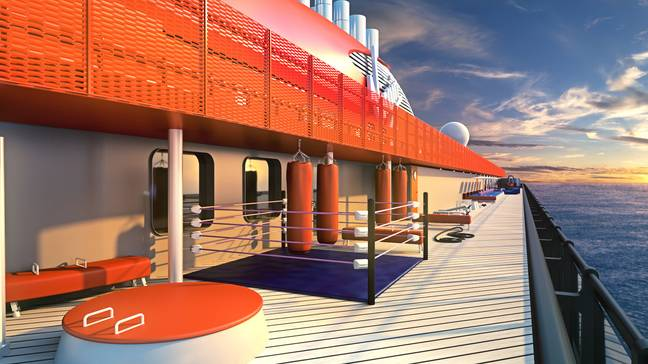There is also an athletic centre. (Credit: Virgin Voyages)