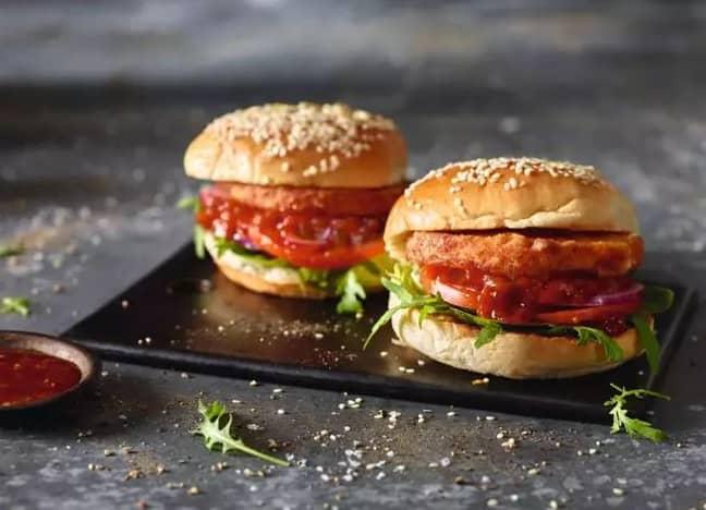 They also released a Halloumi Burger. (Credit: Aldi)
