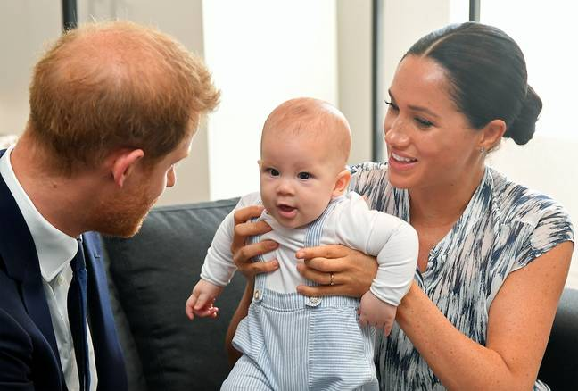 Archie made his audio debut on the podcast (Credit: PA Images)