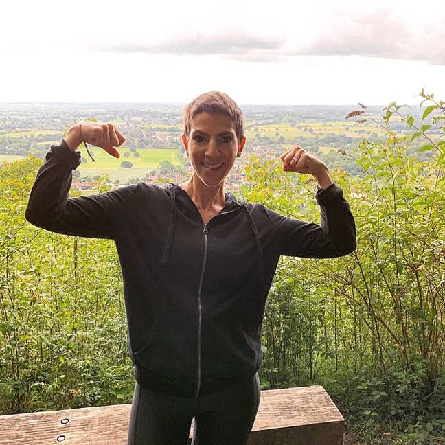 Fitness loving Gemma received a cancer diagnosis at just 31 (Credit: Gemma Isaacs)