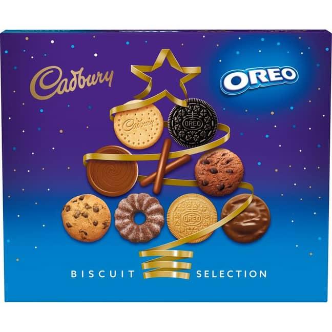 Cadbury's Oreo Biscuit Selection Box (Credit: Cadbury)