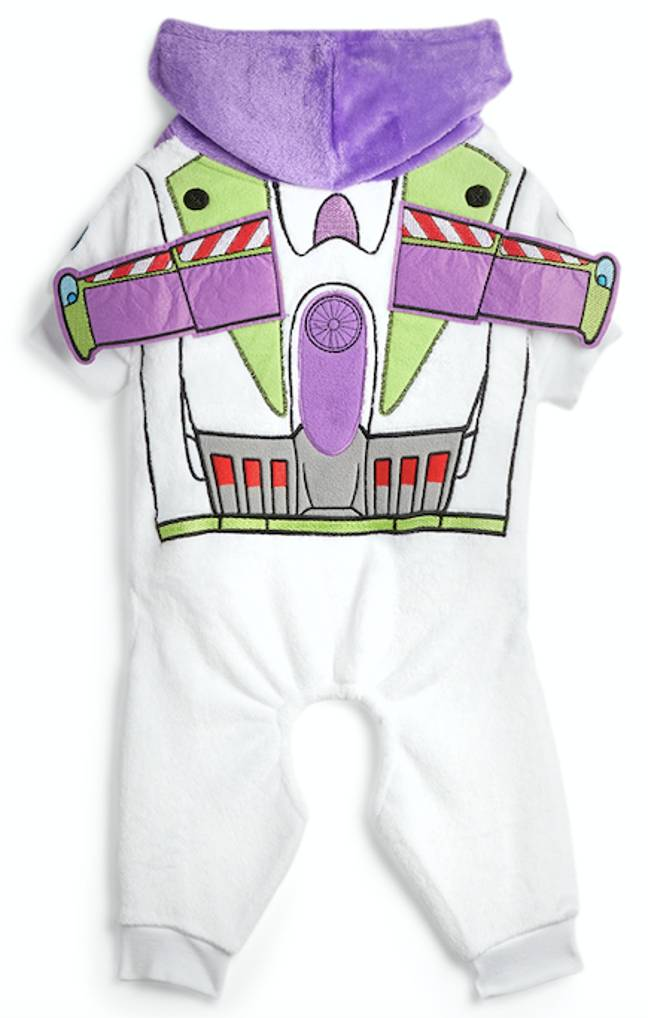 Dress your pet as a mini Buzz Lightyear (Credit: Primark)