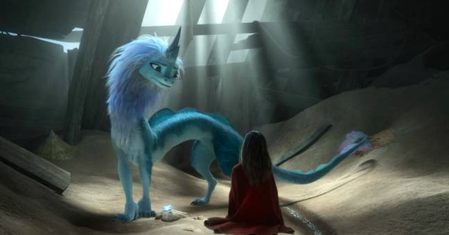 Awkwafina voices Sisu the dragon (Credit: Disney)