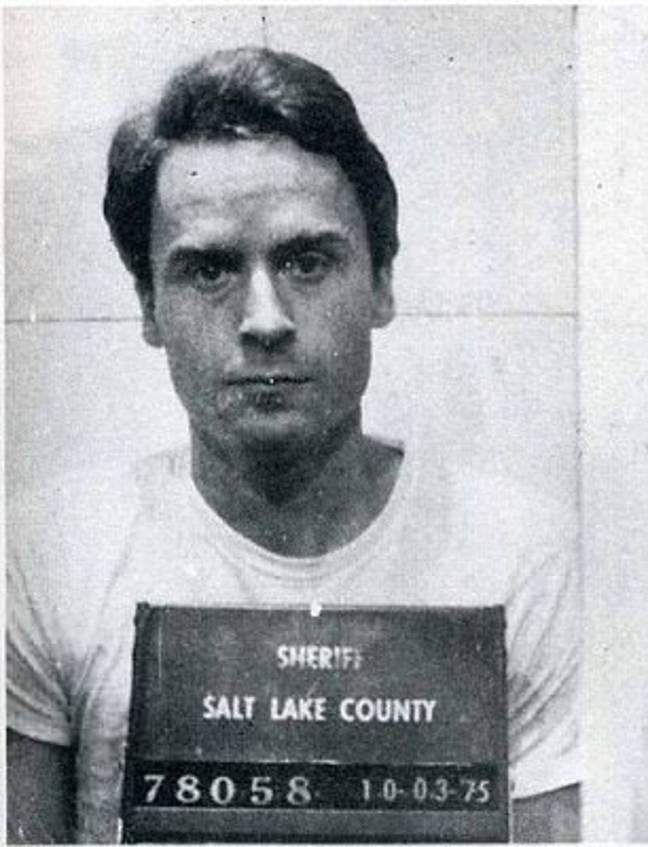 Serial killer Ted Bundy. Credit: PA Images