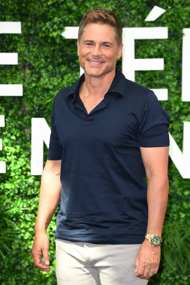 Actor Rob Lowe is another of the stars appearing (Credit: PA)