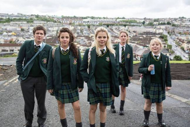 Bridgerton star Nicola Coughlan has revealed a new series of comedy hit Derry Girls is on its way (Credit: Channel 4)