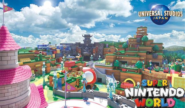 Eventually, there will also be incredible jungle-themed attractions and activities (Credit: Universal Studios/Nintendo)