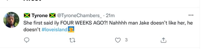 Four whole weeks ago...