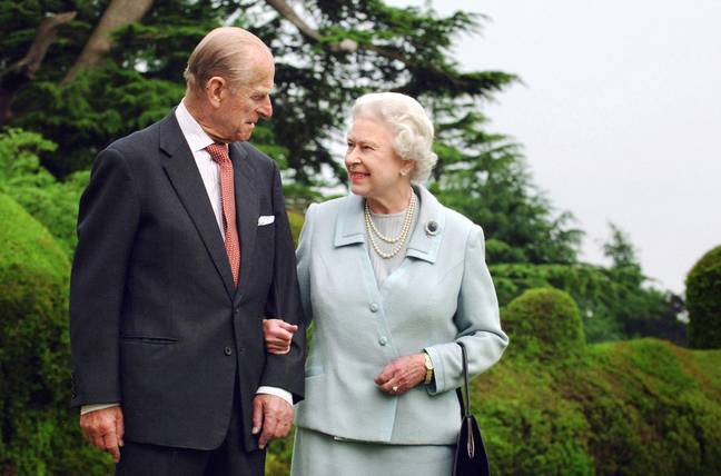 The Queen and Prince Philip on their diamond wedding anniversary in 2007 (Credit: PA)