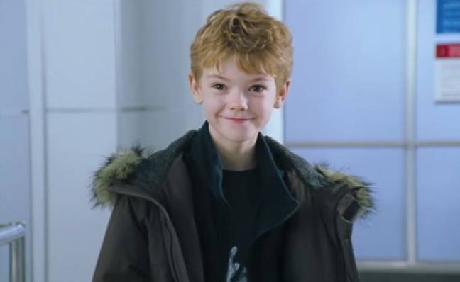 Thomas Brodie-Sangster starred as Sam in the 2003 film (Credit: Universal)