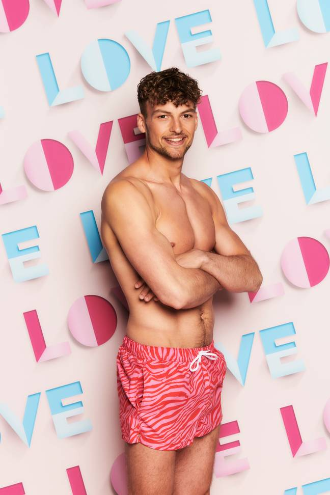 Hugo Hammond. ove Island starts at 9pm Monday 28th June on ITV2 and ITV Hub. Episodes are available the following morning on BritBox (Credit: ITV)