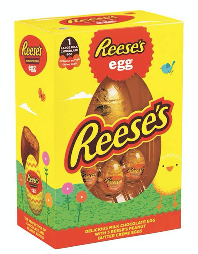 There's also a classic Reese's egg in Tesco (Credit: Reese's/The Hershey Company)