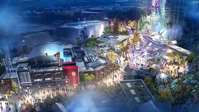 It has now been confirmed that a new Avengers-themed section of Disneyland will be ready to open this year (Credit: Disney/Marvel)