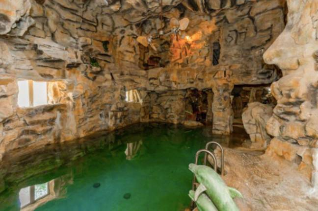 Now this is an indoor water feature (Credit: Crown Realty)