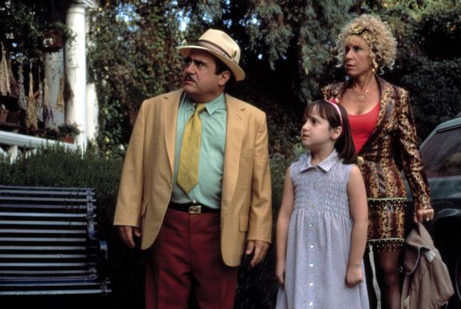 Mara spent a lot of time with her co-stars Danny DeVito and Rhea Perlman (Credit: Sony Pictures)