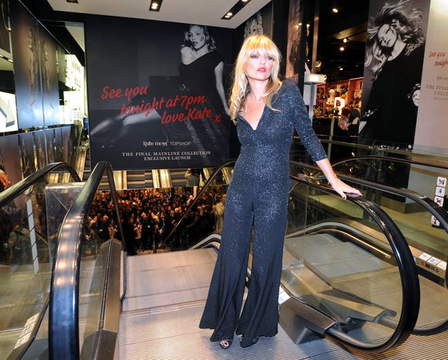 Topshop's Kate Moss collection made the shop a favourite with fashionistas (Credit: PA)