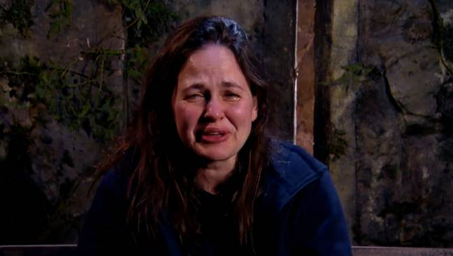 Giovanna was devastated when she didn't get her treat from home (Credit: ITV)