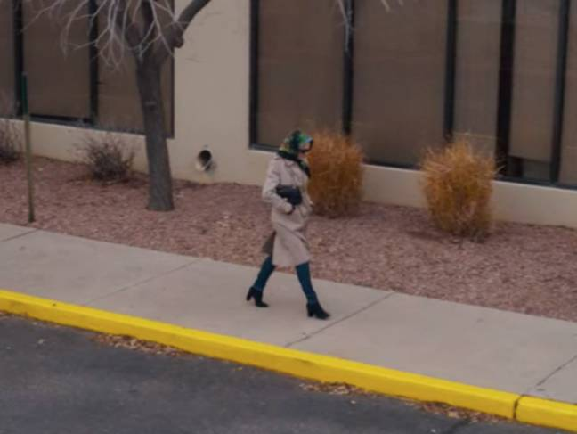 Is this Mary? And if so, is she Elaine's killer? (Credit: Netflix)