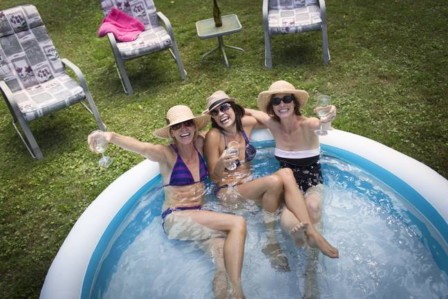 A paddling pool is essential in this heat (Credit: Stock/Shutterstock)