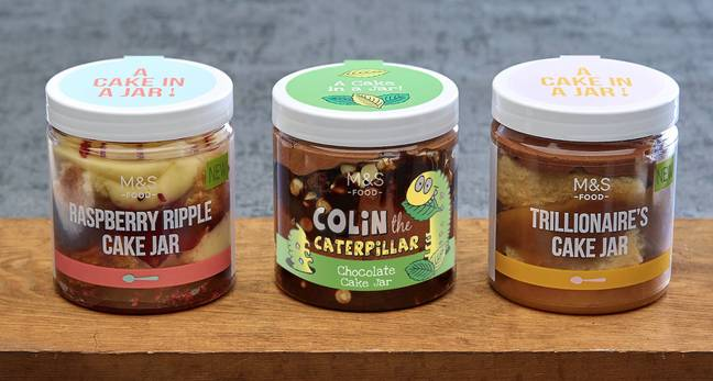 The cake jars are available in M&S now (Credit: Marks & Spencer)