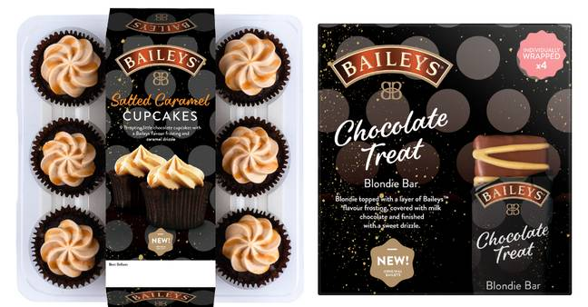 Bailey's infused cupcakes and bars are coming, too (Credit: Bailey's)