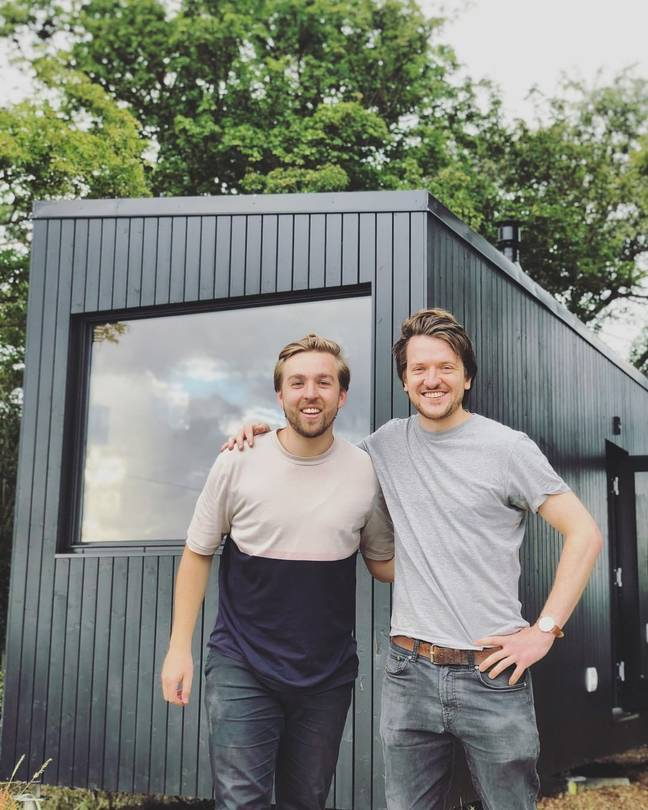 Ben Elliot and Hector are the men behind Unplugged (Credit: Kennedy)
