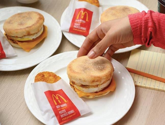 Grab your McDonald's breakfast at a discount, too (Credit: Instagram/ McDoanld's Canada)