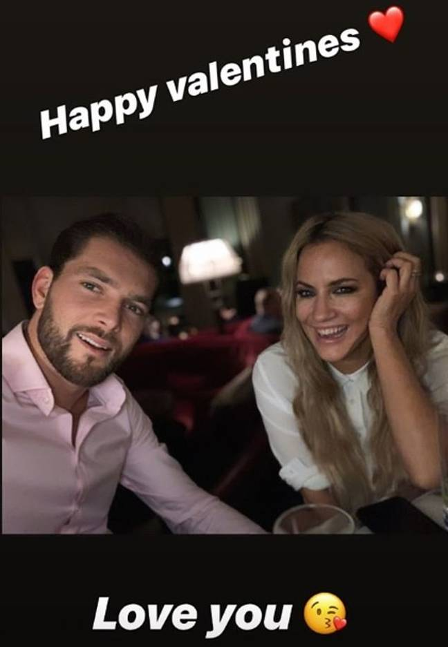 Lewis reached out to Caroline on social media on Friday (Credit: Lewis Burton)