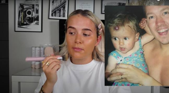 Molly-Mae also opened up about her time at secondary school and her parents's fear she would be bullied (Credit: Molly-Mae Hague/YouTube)