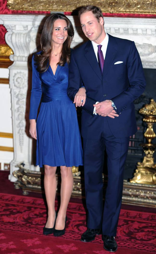 Kate said William was a romantic during their engagement interview (Credit: PA)
