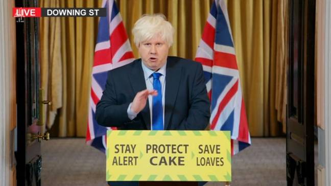 Matt Lucas has impersonated Boris before (Credit: Channel 4)