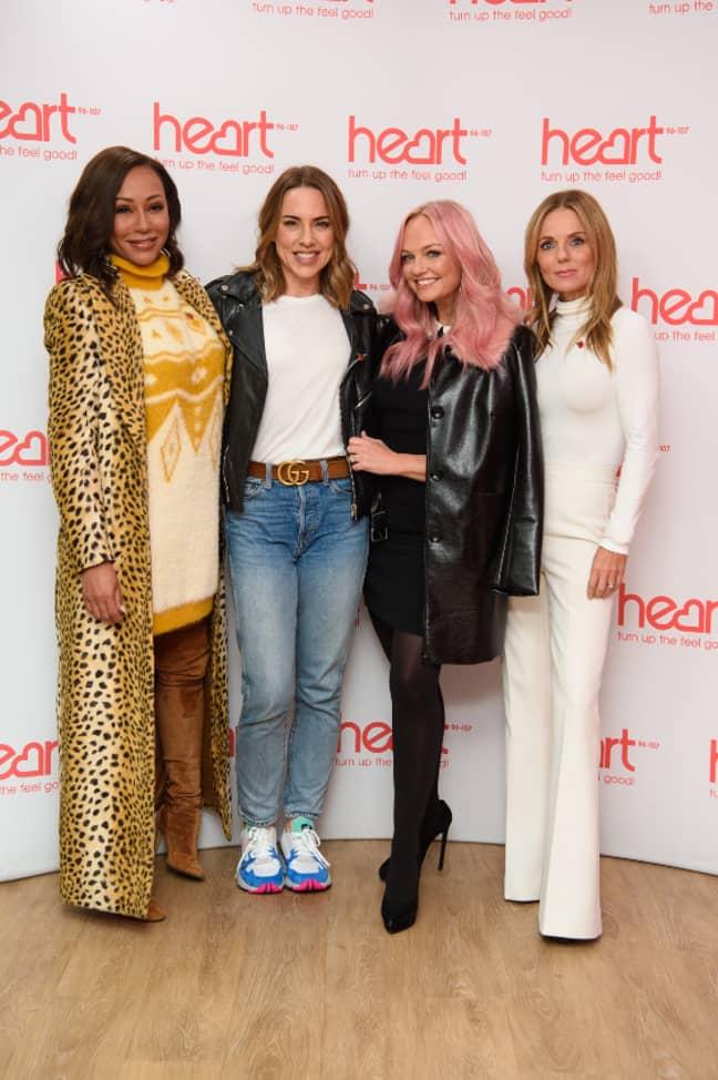 Melanie C, Emma Bunton, Mel B and Geri Halliwell reunited last year for a reunion tour (Credit: PA)