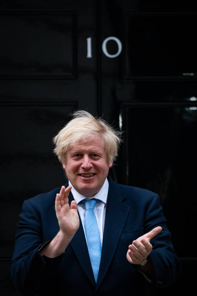 Boris Johnson is urging people to clap (Credit: PA Images)