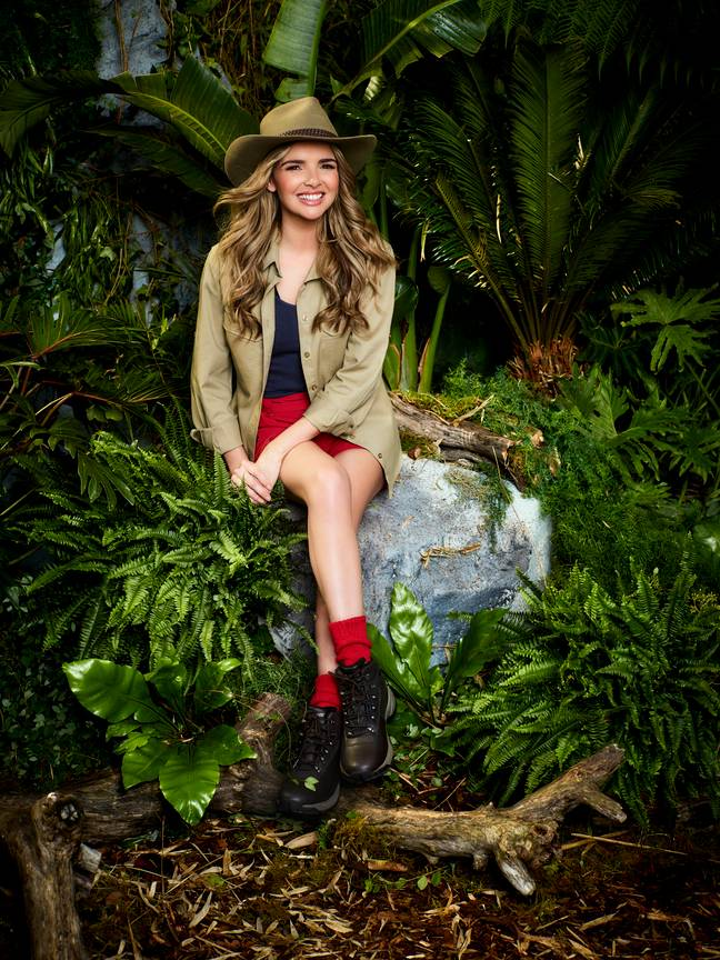 It was reported back in October that singer Nadine had signed up for 'I'm A Celebrity'. (Credit: ITV)