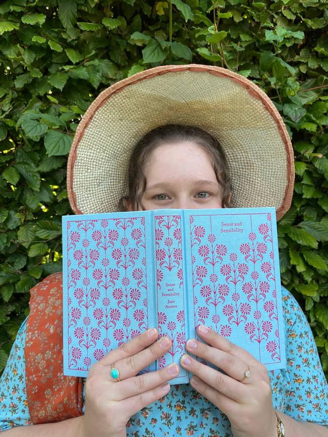 Sophie got into Jane Austen at school (Credit: Sophie Andrews)