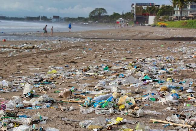 Plastics that take hundreds of years to break down end up in our oceans and on our beaches (Credit: Pxfuel)