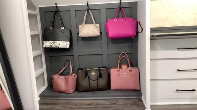 Idaly even got her own handbag wall! (Credit: Jam Press)