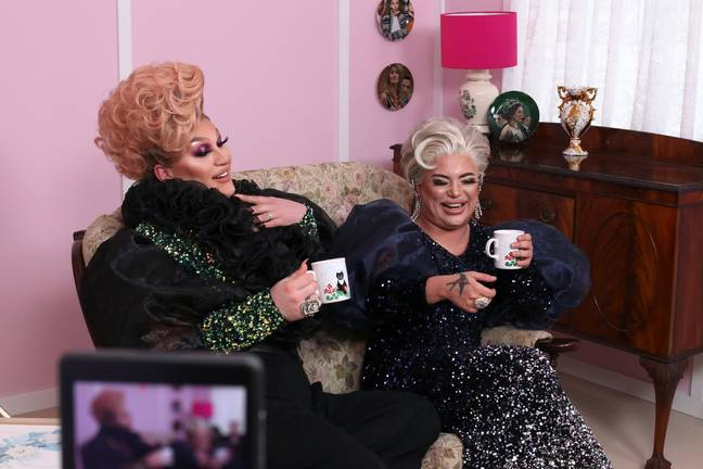 The Vivienne and Baga Chipz are the hosts of the UK show (Credit: Netflix)