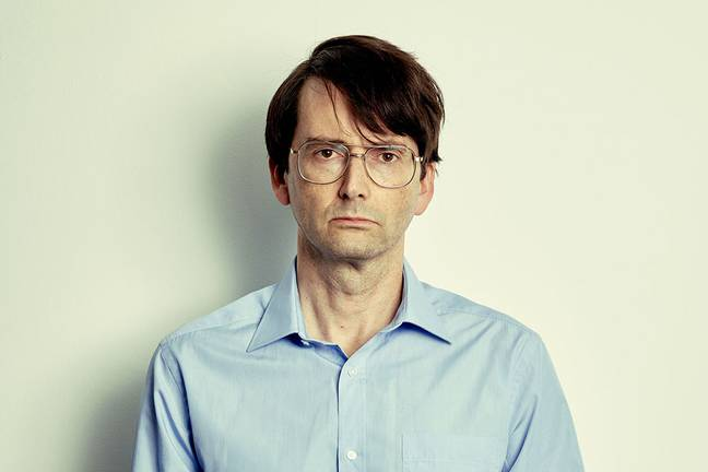 The serial killer is depicted by David Tennant in the drama (Credit: ITV)