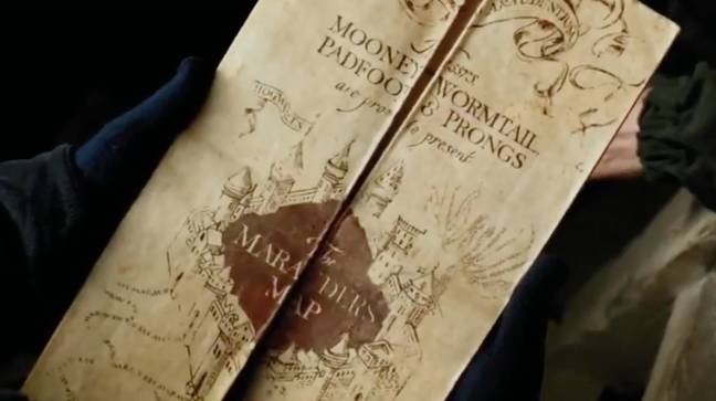 The exhibiton features J.K.Rowling's original book synopsis about plots and characters and rough sketches for Hogwarts (Credit: Warner Bros)